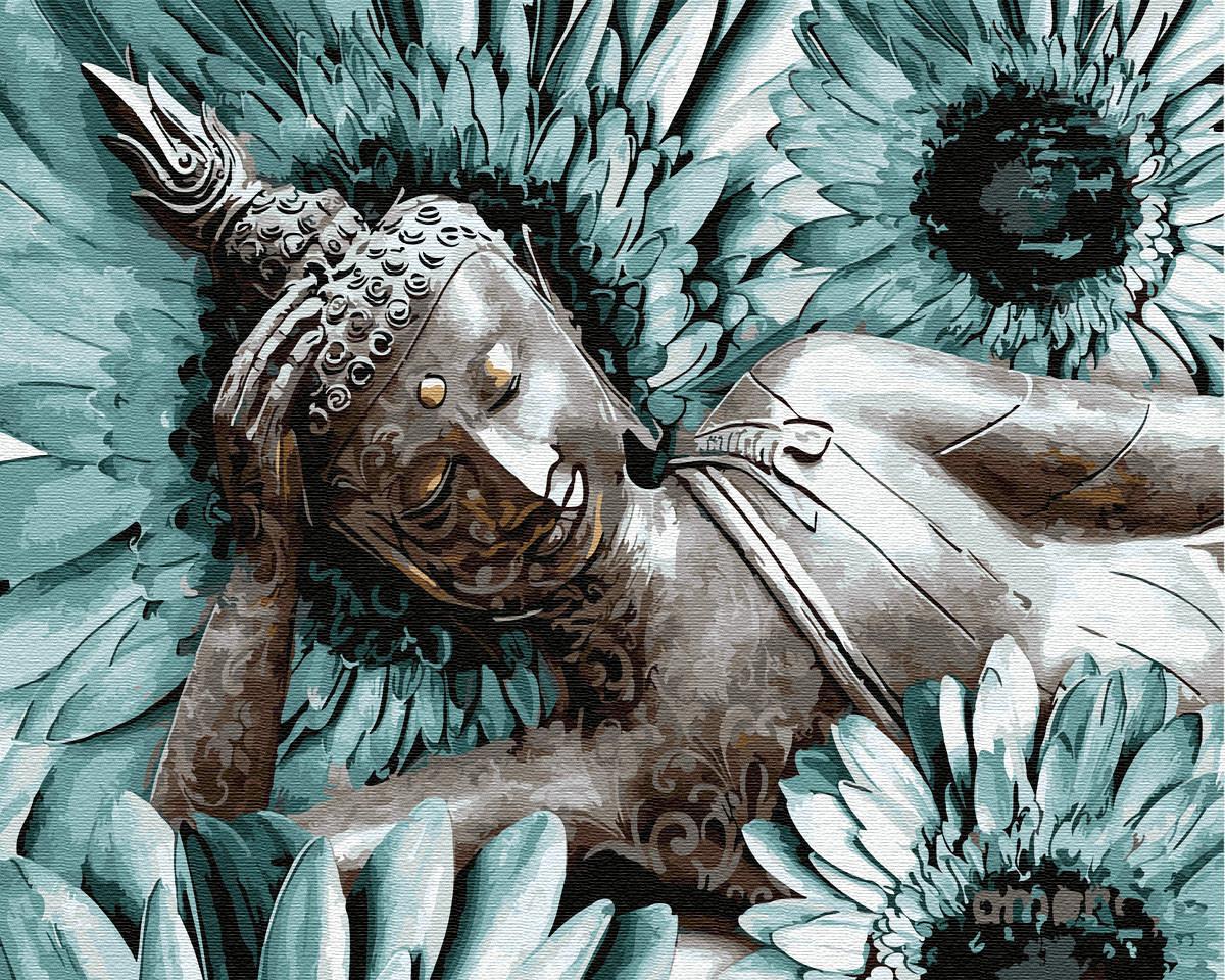 Картина по номерам Будда Медитация (40 х 50 см)