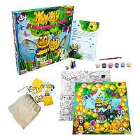 Развивающая настольная игра Жу-Жу в цветущем саду (укр), Strateg (30201)