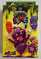 Ручной Лизун фиолетовый, наборы для создания слайм лизунов, Danko Toys (SLM-02-04/04U)