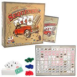 Стратегическая настольная игра Сиквэнс Sequence (укр), Strateg (30361)