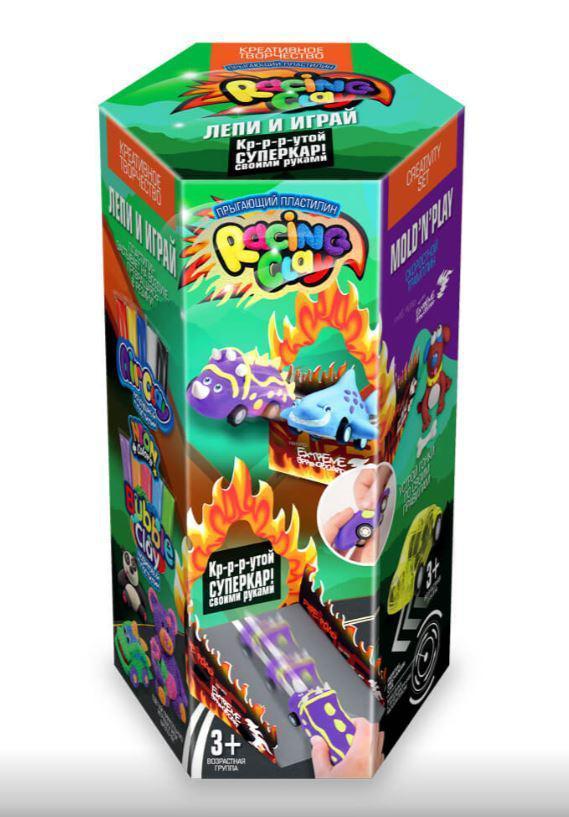 Суперкар, набор для лепки с шариковым пластилином, Danko Toys (CLRC-01-02)
