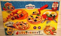 Тесто для лепки набор Шеф повар кулинария, Danko Toys (TMD-09-01/01U)