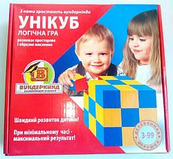 Уникуб Кубики Никитиных (укр), Вундеркинд (К-002)