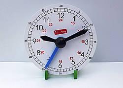 Часы деревянные для детей, Komarovtoys (А 375)