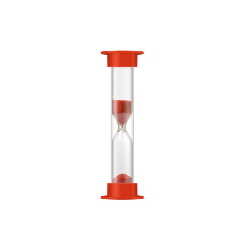 Часы песочные на 10 минут в безопасным пластиковом тубусе, Стеклоприбор (404997)