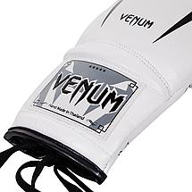 Боксерские перчатки Venum Giant 3.0 Boxing Gloves With Laces White, фото 3