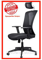 Офисное компьютерное кресло Barsky Mesh White/Black BM-04