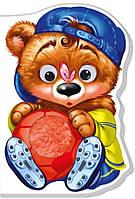 Картонная книжка-игрушка для малышей Медвежонок (рус), Ранок (А393013Р)