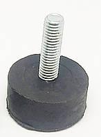 РЕЗИНОВАЯ ножка регулируемая  М 8 мм