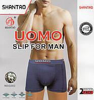 Трусы мужские боксеры хлопок UOMO, размеры XL-4XL, G-012