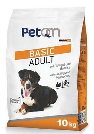 Сухой корм для собак PetQM Dog Basic Adult, 10 кг, фото 2