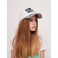 Детская подростковая кепка для девочки Елена Dembohouse р.54 белая