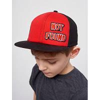 Детская подростковая кепка для мальчика с прямым козырьком Мурилу р.52 Dembohouse