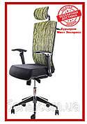 Офисное компьютерное кресло Barsky ECO chair Green G-1