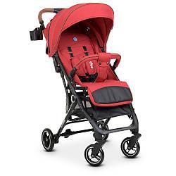 Прогулочная коляска-книжка красная El Camino Idea ME 1039L Crimson