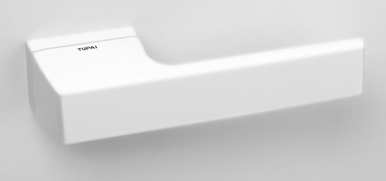 Дверна ручка Tupai 3099 RT/152 білий матовий