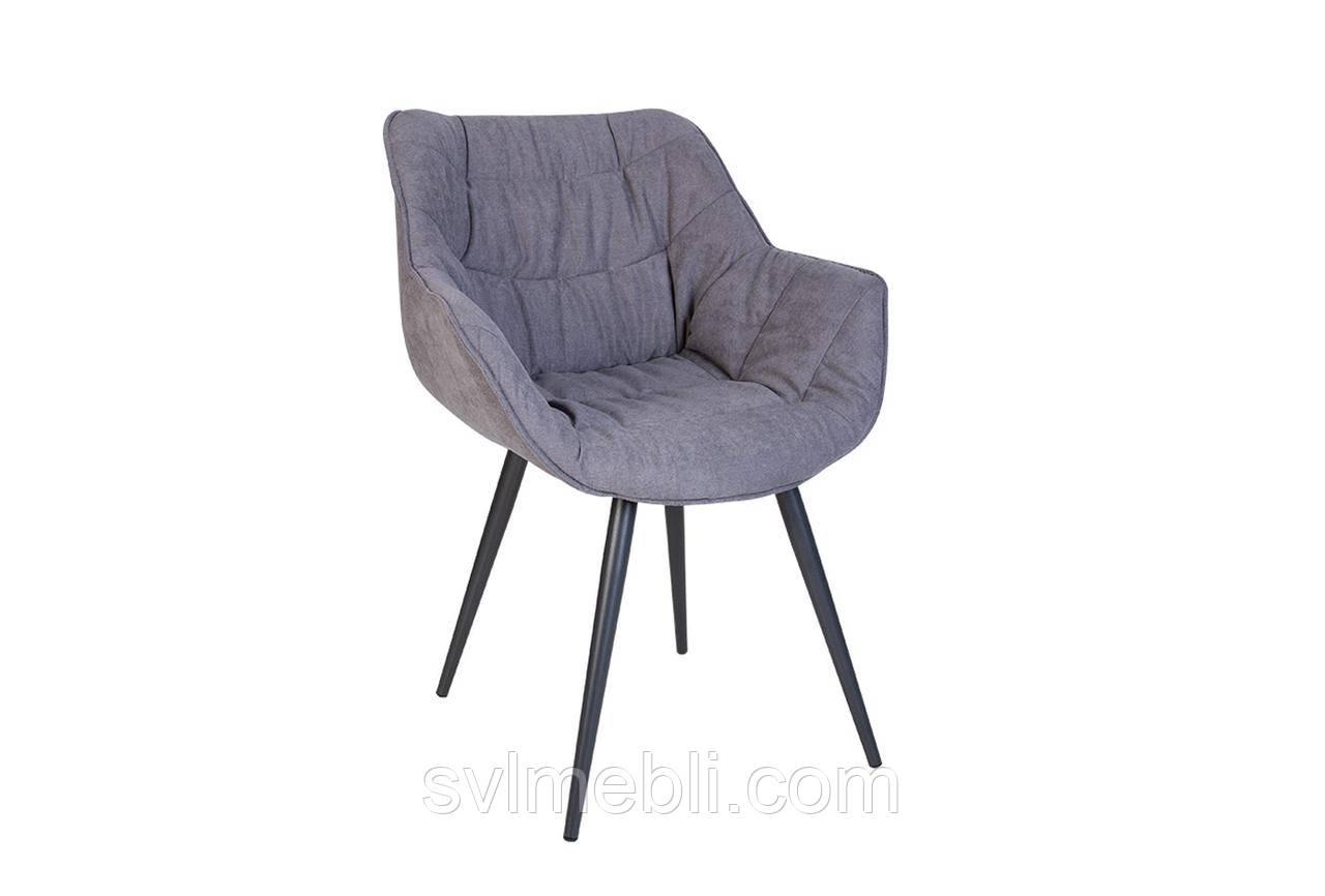 Стул VENSAN HN antr SORO-93 серый, ножки цвета антрацит