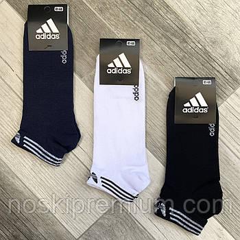 Носки мужские короткие хлопок Adidas. Турция. 41-44 размер, ассорти, 06266