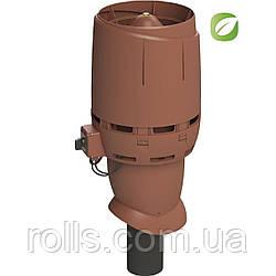 Вентилятор FLOW ECo 110 P Вентилятор VILPE Кирпичный
