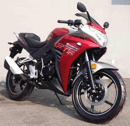 Мотоцикл Forte FTR300 (красный), фото 2