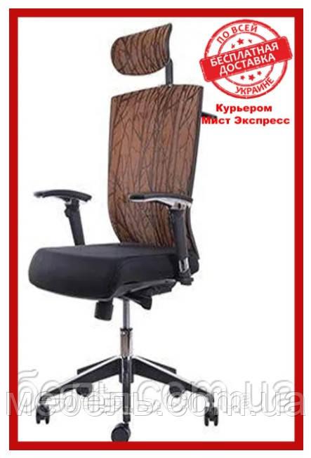 Офисное кресло Barsky G-4 ECO chair Orange, сеточное кресло