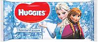 Huggies влажные салфетки детские Frozen 56шт