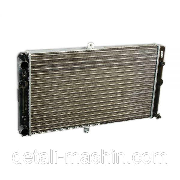 Радиатор водяного охлаждения ВАЗ 2110 2111 2112 карбюратор (алюминиевый) Пекар