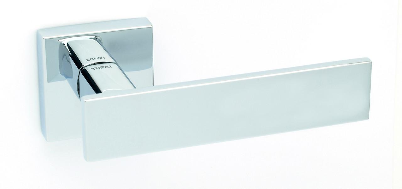 Дверна ручка Tupai 2730 Q /03 хром полірований