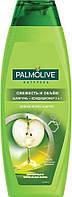 Palmolive шампунь-кондиционер 2в1 Свежесть и Объем 380 мл Зелёное яблоко и цитрус
