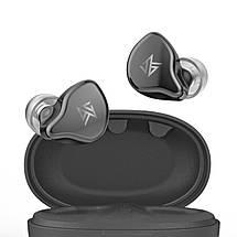 Беспроводные Bluetooth наушники KZ S1 с поддержкой AAC (Серый), фото 3