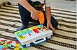 Мозаика конструктор с шуруповертом 106 деталей детский набор инструментов с мозаикой, фото 5