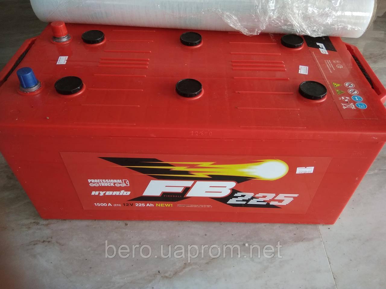 Акумулятор 225 А, FB, 1500 A (EN), червоний