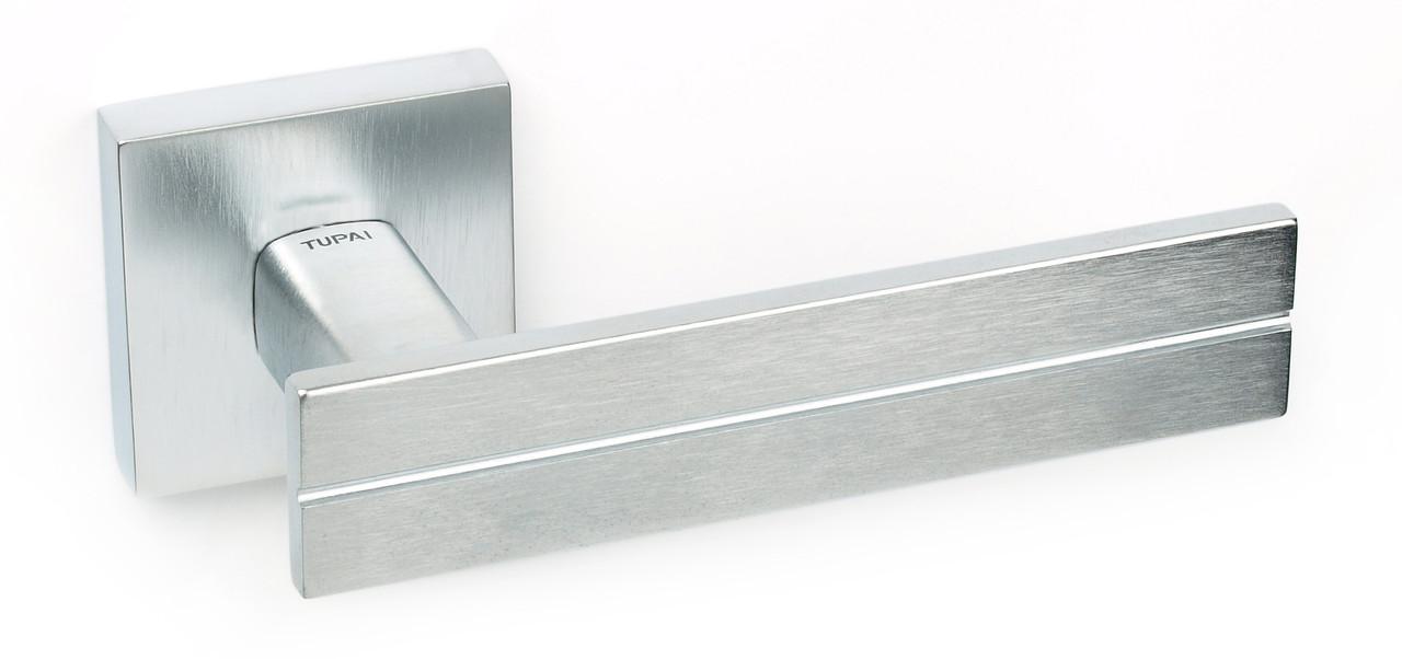 Дверна ручка Tupai 2736 Q /96 хром матовий