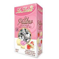 La Luisa пралине из белого шоколада с клубничным кремом 200 г /С2322/ БГ