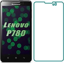 Защитное стекло Lenovo P780 (Прозрачное 2.5 D 9H) (Леново Р780 П780)