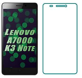 Защитное стекло Lenovo A7000 K3 Note (Прозрачное 2.5 D 9H) (Леново А7000 К3 Ноут Ноте)