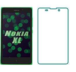 Защитное стекло Nokia XL (Прозрачное 2.5 D 9H) (Нокиа ХЛ Икс Эль)