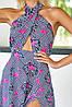 Длинное летнее штапельное платье в пол с открытой спиной (Паулина mm), фото 6