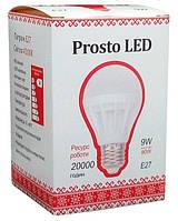 Светодиодная лампа Prosto LED SK-9W-E27 G61 4100К (Шар) Матовый (Frosted) white