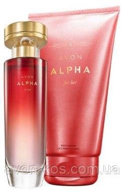 Avon набір Alpha for her - Альфа для жінок ейвон