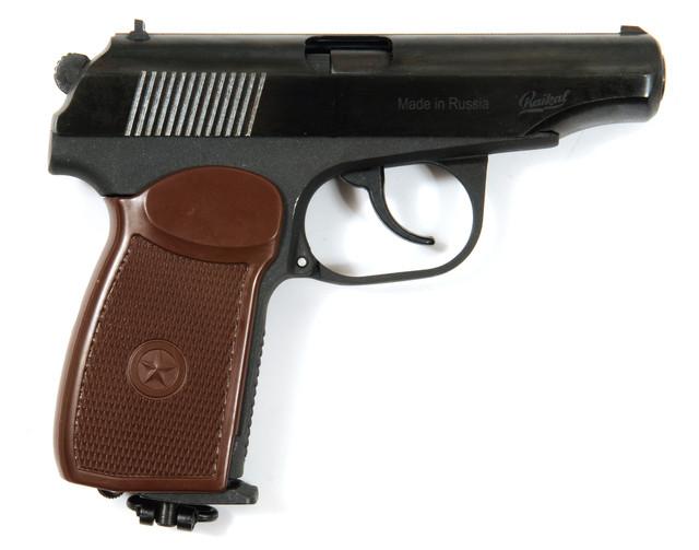 пістолет пневматичний Макаров мр 654К