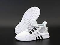 """Кроссовки женские/мужские/унисекс Adidas EQT """"Белые"""" высокие адидас р. 36-38, фото 1"""