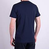 Чоловіча футболка LACOSTE, темно-синього кольору, фото 2