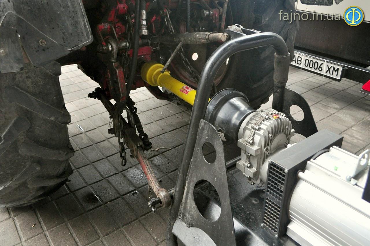 навесной генератор на трактор