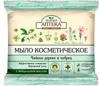 Зелена Аптека мыло косметическое Чайное дерево и чабрец 75 г