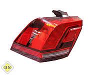 Задний фонарь VW Tiguan '16- левый (Depo) 5NA945095B, 5NA945095C