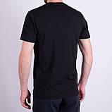 Чоловіча футболка LACOSTE, чорного кольору, фото 2