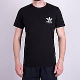 Чоловіча футболка Adidas, оливкового кольору, фото 3