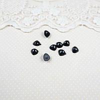 Носик черный, 7*9 мм - 5 шт