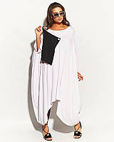 Платье женское в стиле бохо с поясом